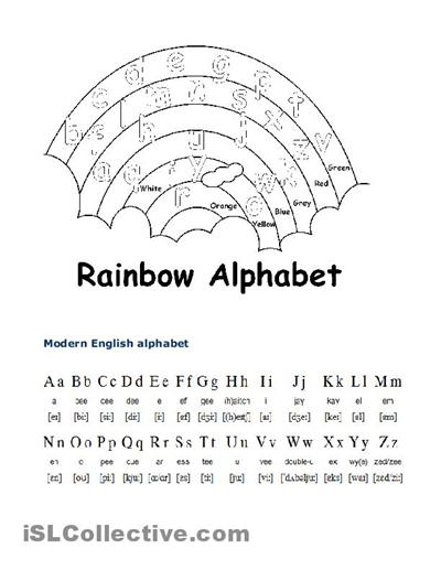 English Alphabet Worksheets – Mreichert Kids Worksheets