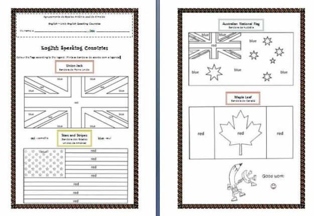 English Teaching Worksheets #4