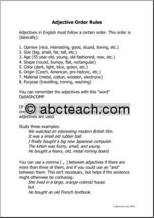 Esl Practice Worksheets #2