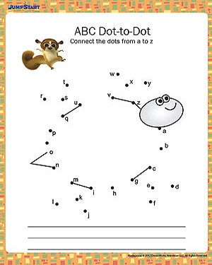 Free Kindergarten Alphabet Worksheets #4