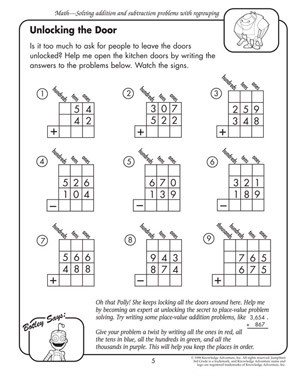 Free Worksheets For Third Graders #2