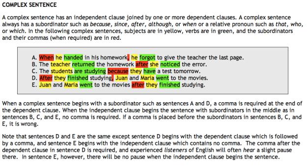 Grammar Worksheets 8th Grade #1
