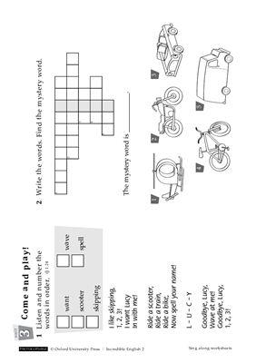 Incredible English 2 Worksheets #1