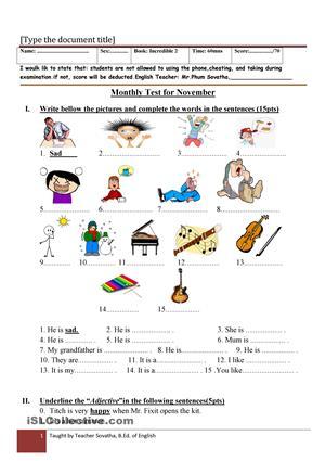 Incredible English 2 Worksheets #2