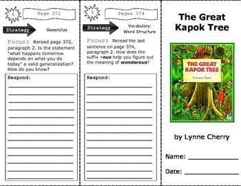 Great Kapok Tree Worksheets #2