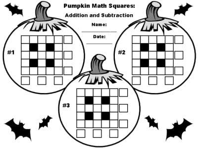 Halloween Puzzle Worksheets #5