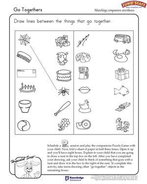 Kids Worksheets Kindergarten #3