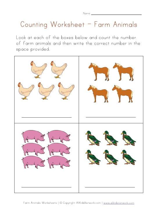 Kids Worksheets Math #1