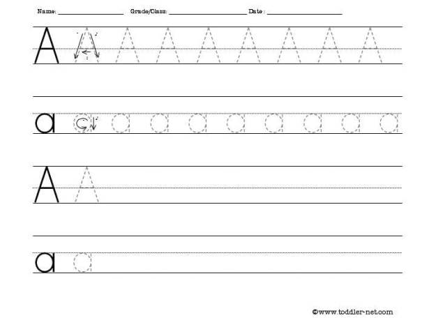Letter S Writing Worksheets #4