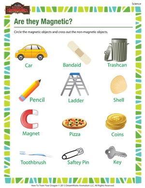 Magnet Worksheets For 2nd Grade #1