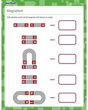 Magnet Worksheets For 2nd Grade #5