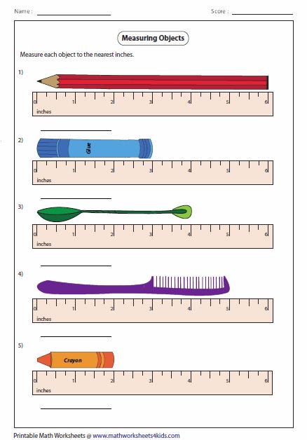 Measurement Length Worksheets #1