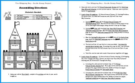 Medieval Castle Worksheets #3