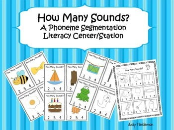 Phoneme Segmentation Worksheets #5