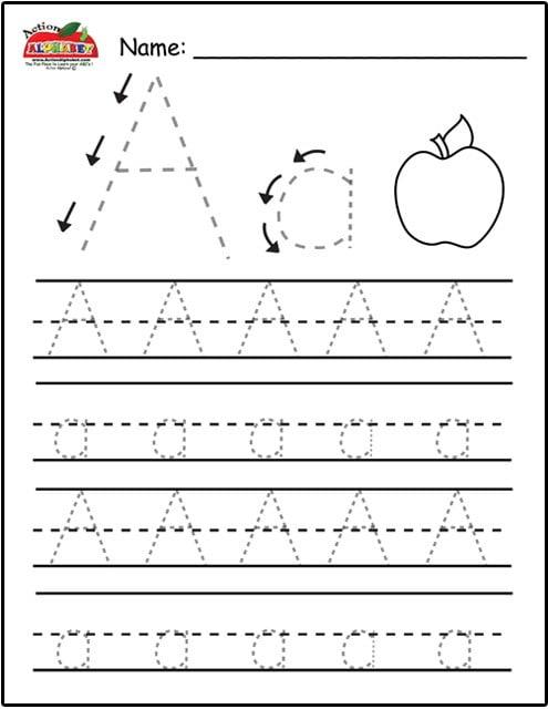 Printable Letter Tracing Worksheets #2