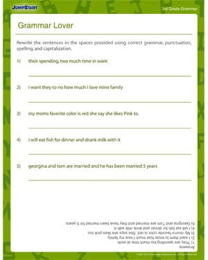 Punctuation Worksheets 6th Grade #2