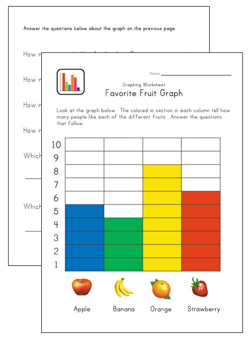 Simple Graphing Worksheets #1