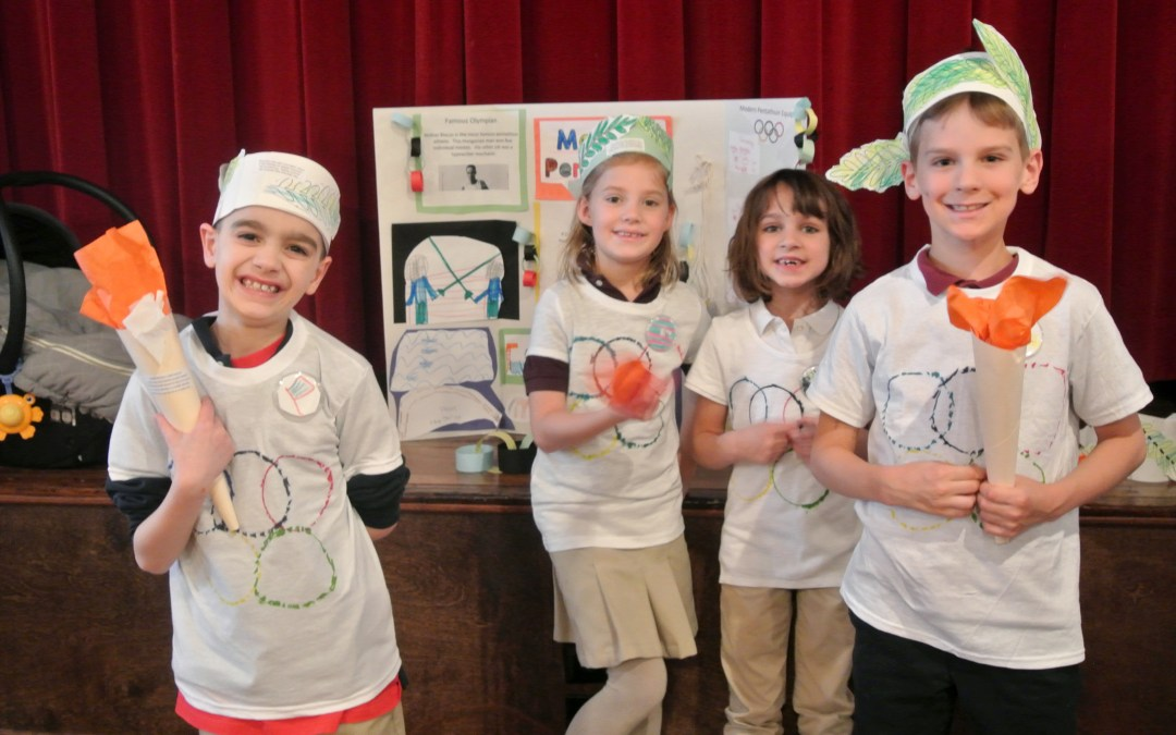 Olympic Project Week in Elementary