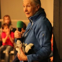 The most important message. Dr. Jane Goodall at the International School of Prague