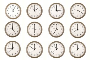 A clock for people without attention deficit