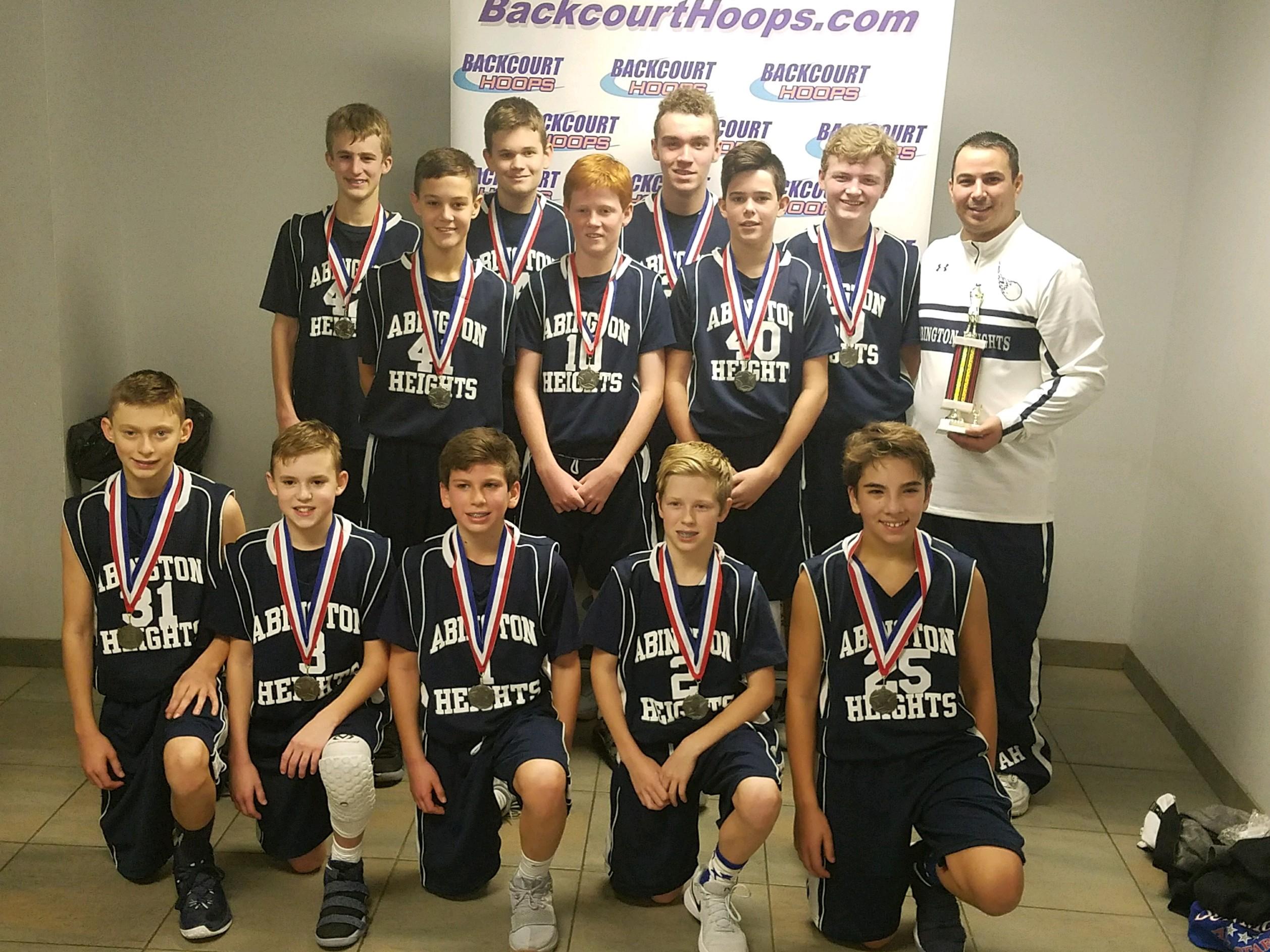 Abington Heights High School Boys Junior High Basketball