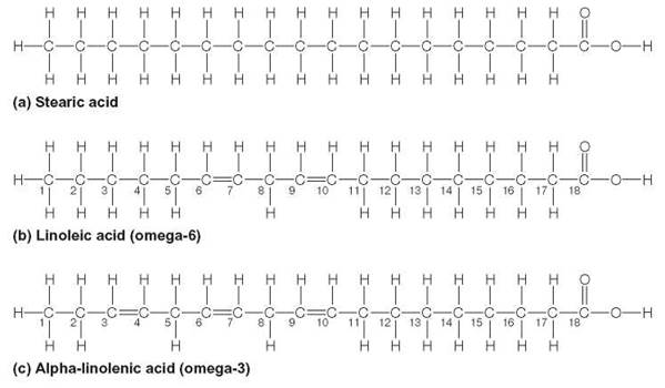 Image result for omega 3 chemical structure