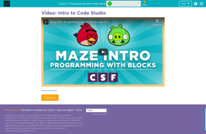 SchoolCoding Code.org Lessons