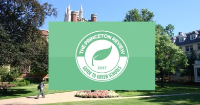 green-friendly college