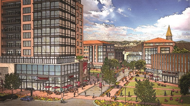University of Denver Unveils Huge Mixed-Use Project