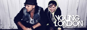 Young London is the power-duo of electronic wizard Matt Rhoades and sassy songstress Sarah Graziani. The duo set out on their first major tour in the summer of 2012, when they joined the likes of Breathe Carolina, All Time Low, and The Used on the Vans Warped Tour.