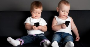 Technology has serious effects on societies' youngest members.