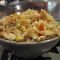 Benihana inspired fried rice