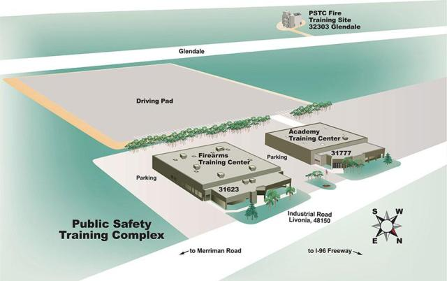 public-safety-training-complex-map