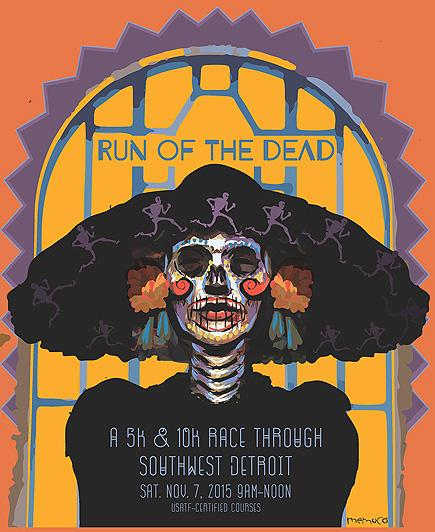 run of the dead logo