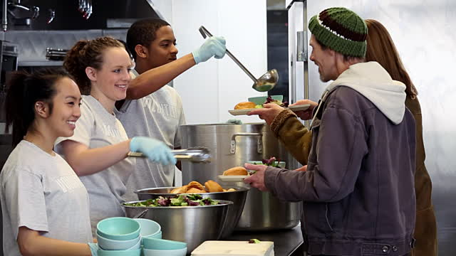 Help at St. Leo\'s Soup Kitchen