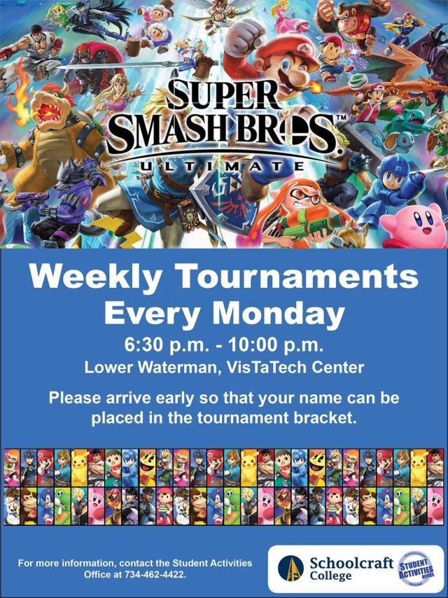 Super-Smash-Weekly-Tournaments
