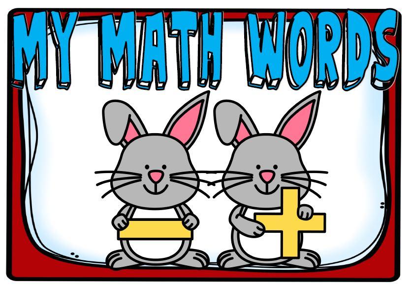 My Math Words - School Diva