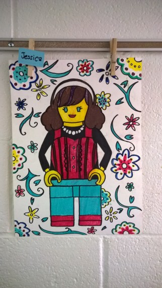Schooled in Love: Lego Self Portraits