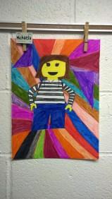 Schooled in Love: Lego Self Portraits