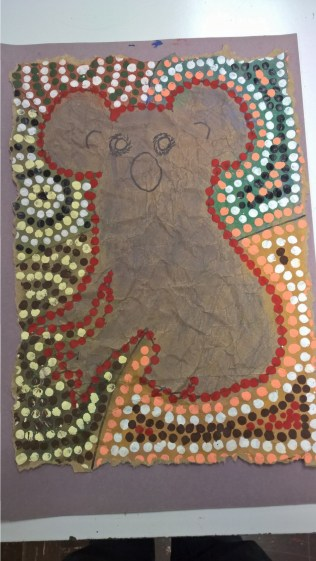 Schooled in Love - Aboriginal Art