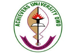 Achievers University Academic Calendar