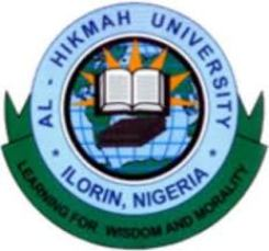 Al-Hikmah University academic calendar