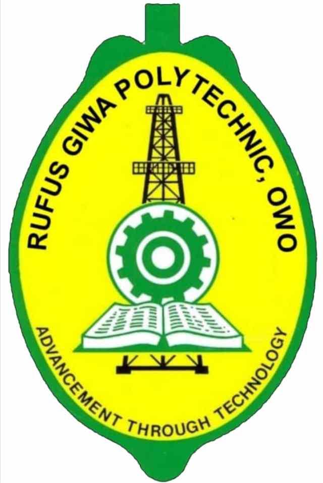 Rufus Giwa Poly HND Form