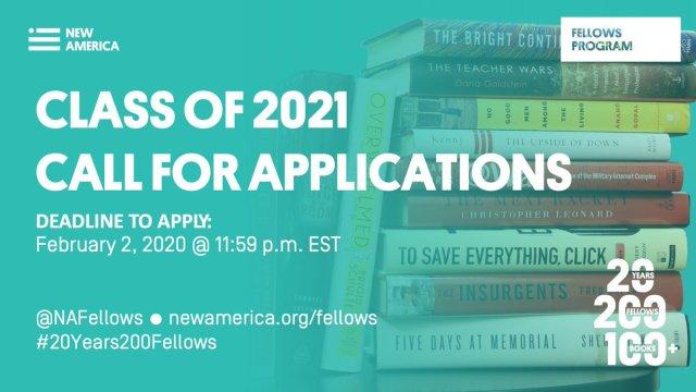 New America National Fellows Program