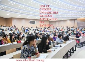 List of Chinese Universities