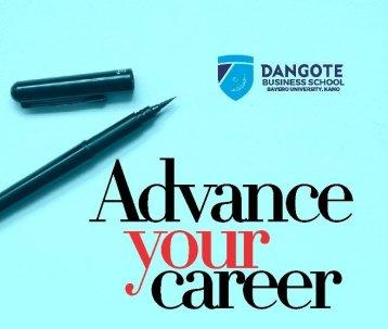 BUK Dangote Business School Form