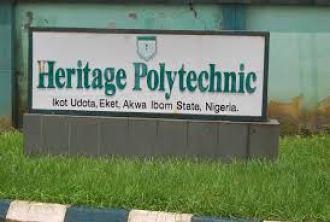 Heritage Polytechnic Admission form