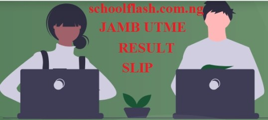 JAMB Original Result Slip