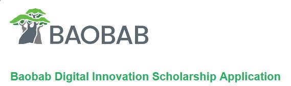 Baobab Digital Innovation Scholarship