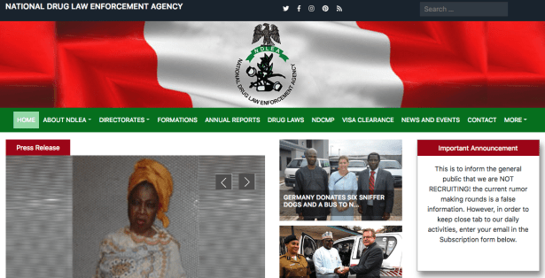 NDLEA Shortlisted Candidate